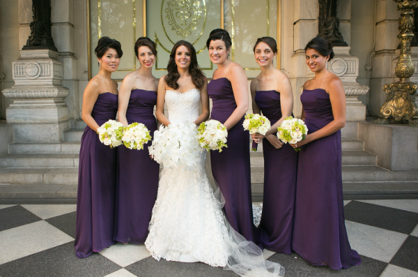 The bridal party in New York