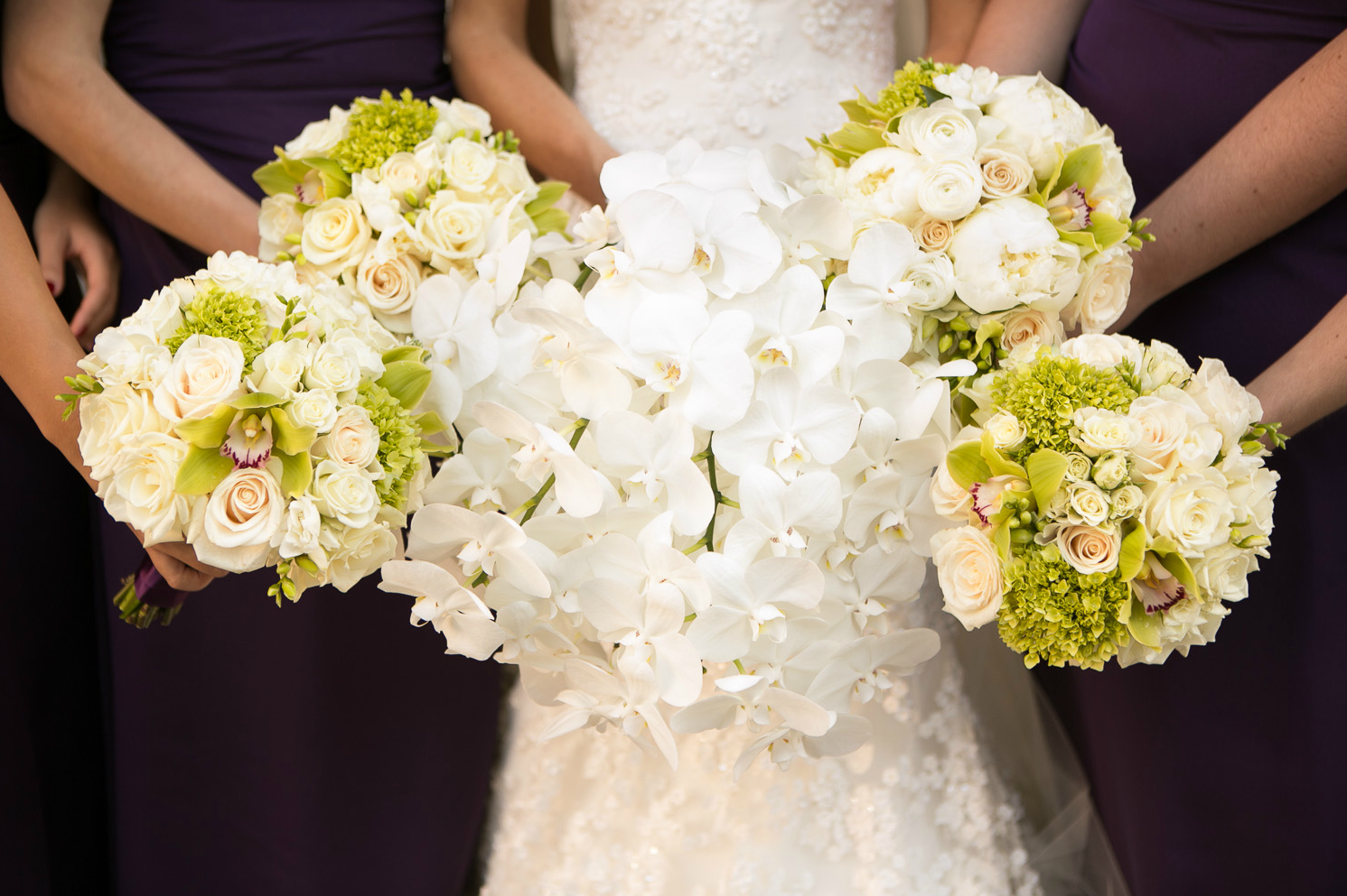 The most beautiful wedding bouquet