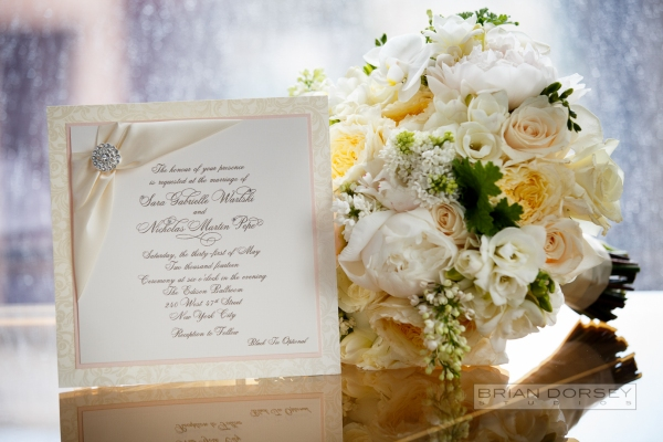 The most beautiful bridal bouquet