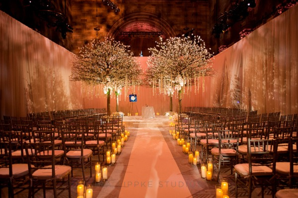 Celebrity's wedding design in New York City